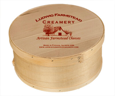 Wood Cheese Box
